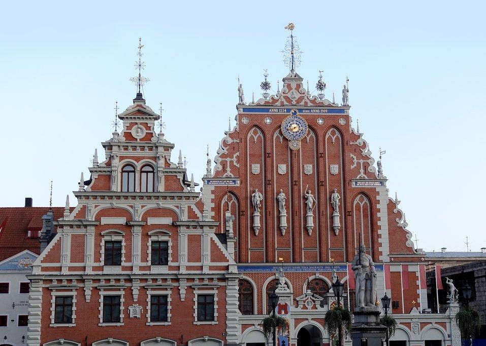 The House of the Black Heads, Riga, Latvia