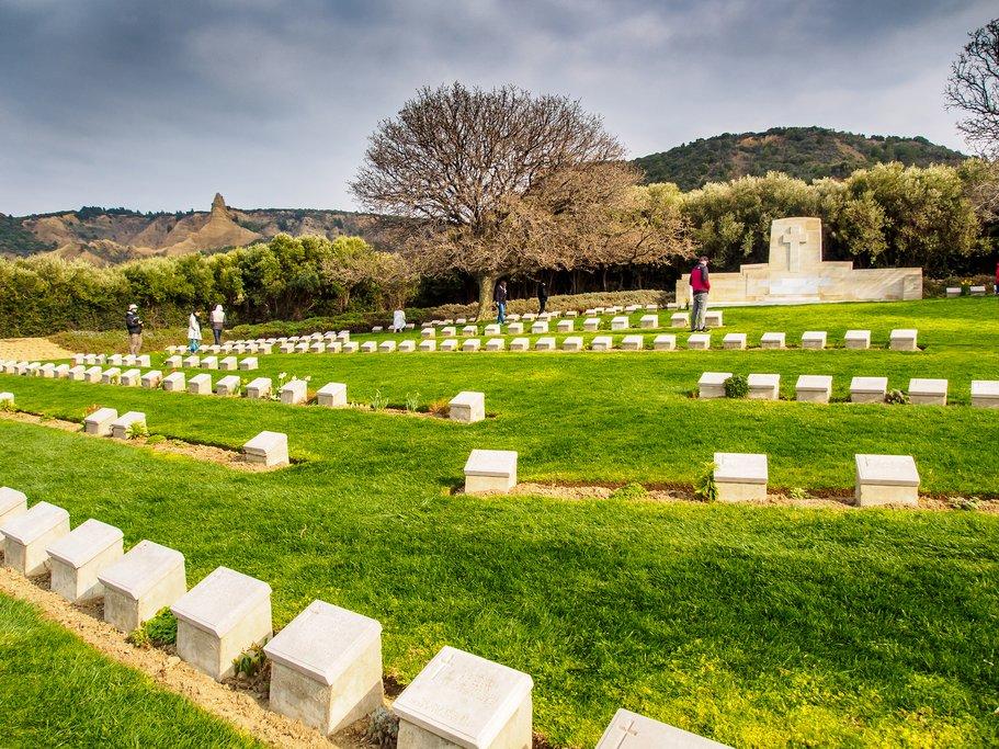 Ari Burnu Cemetery in Gallipoli