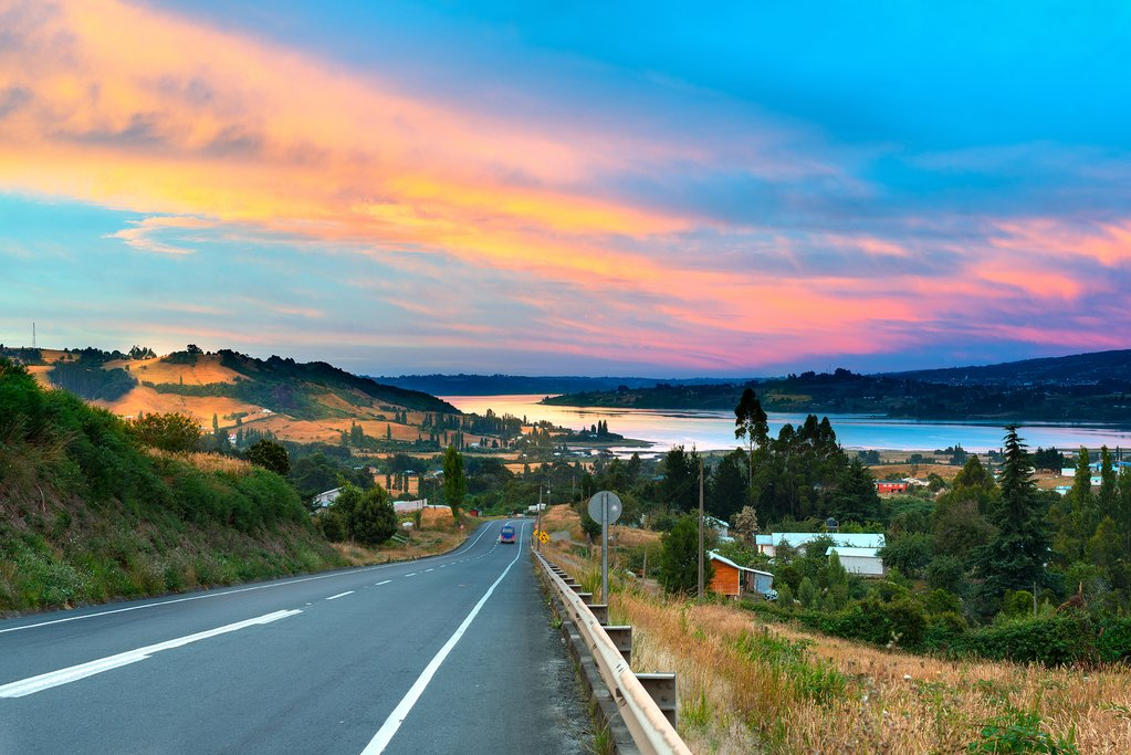 Hit the open road in Chiloé