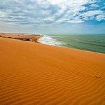 View from Taroa sand dune
