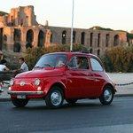 Tour Rome in a Vintage Fiat 500