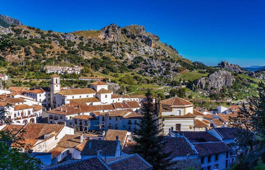 Grazalema's mountainous setting