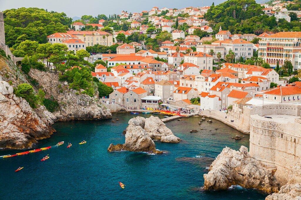Scenic view of Dubrovnik