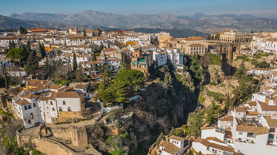 Views over Ronda's Old Town