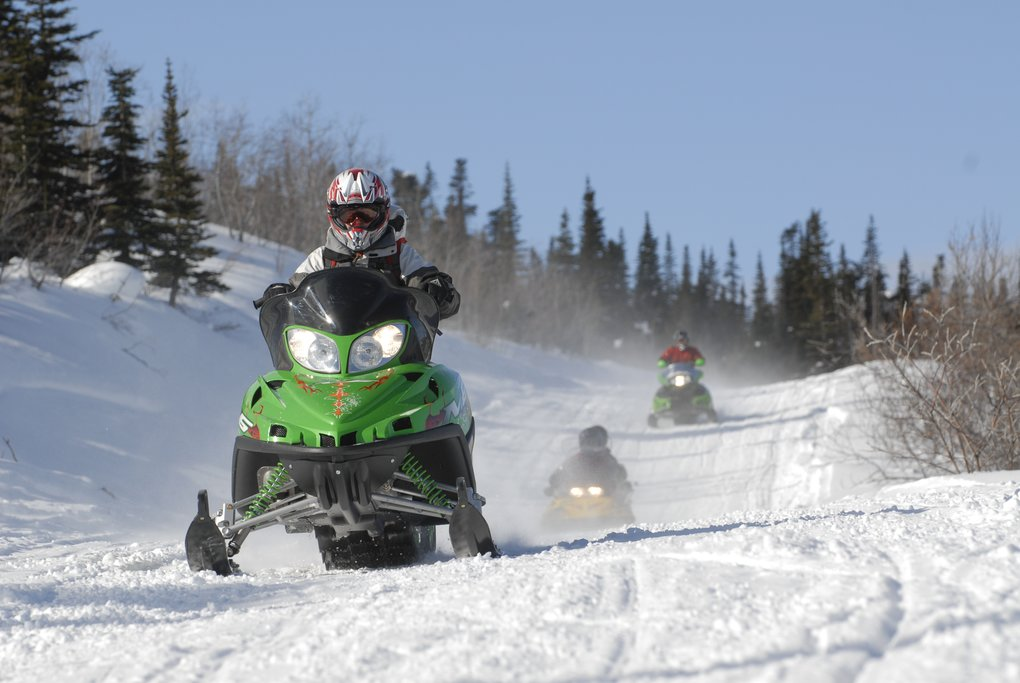 Enjoy an adrenaline-filled ride through the snow