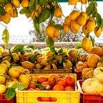 Lemons, a staple of the Amalfi Coast