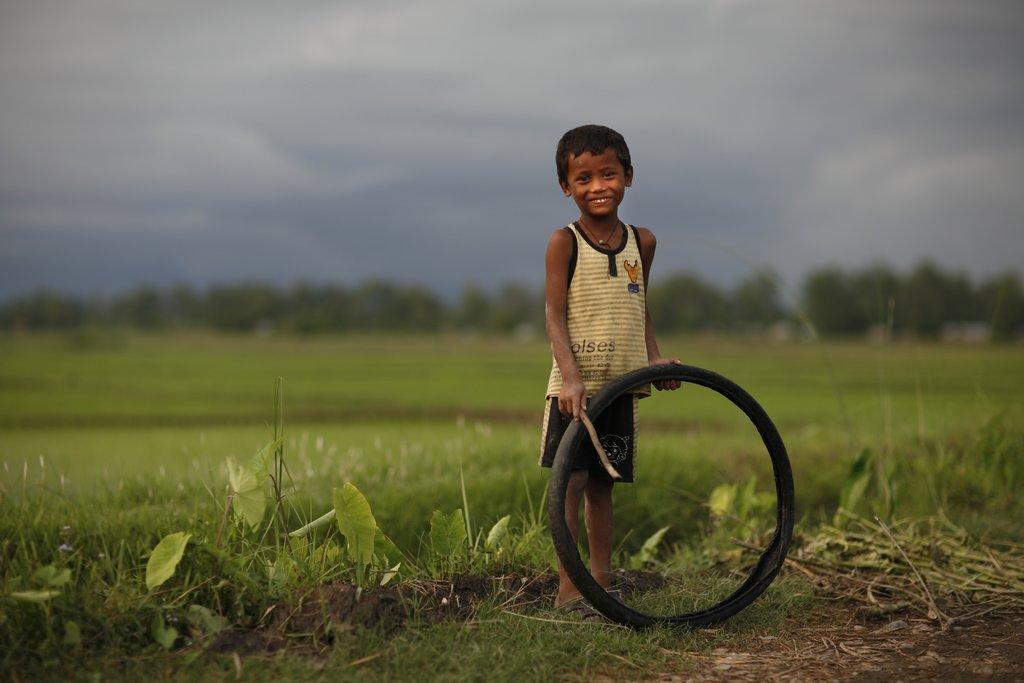 Tharu boy in the Therai Region