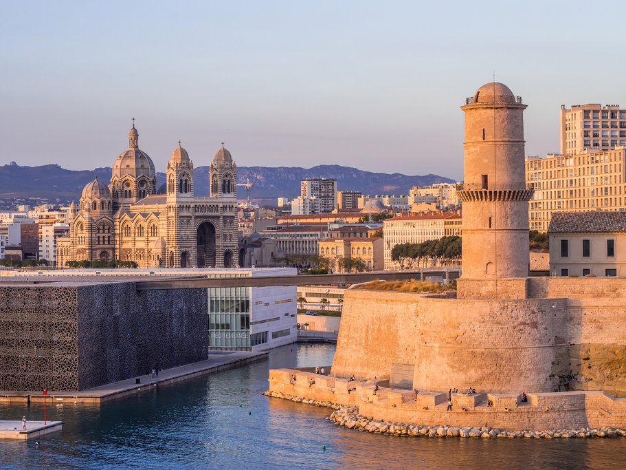 Saint Jean Castle, in Marseille