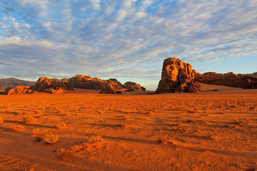 Sunrise over Wadi Rum, Jordan