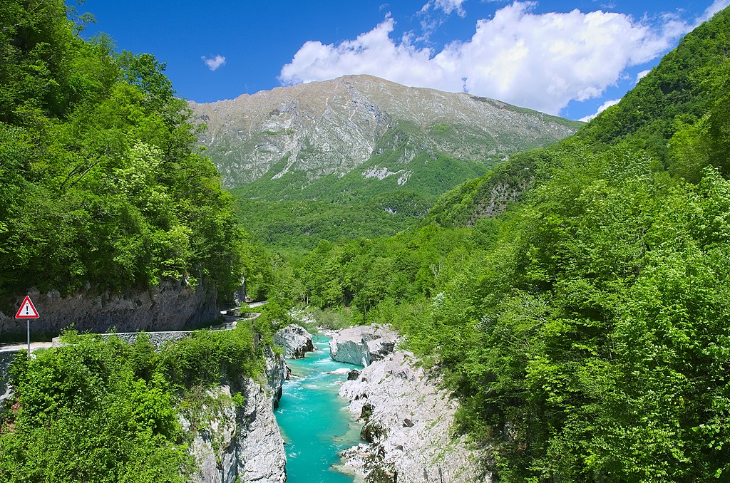 See why the Soča got its nickname
