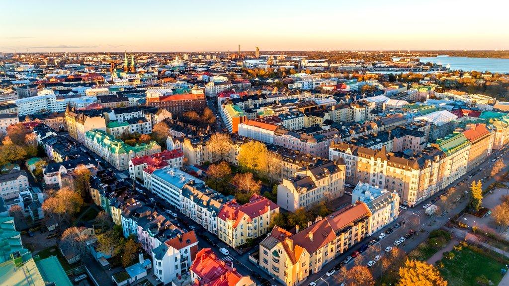 Take a day trip to Helsinki, Finland