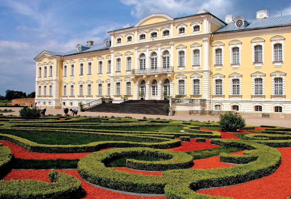 The18th-Century Rundale Palace