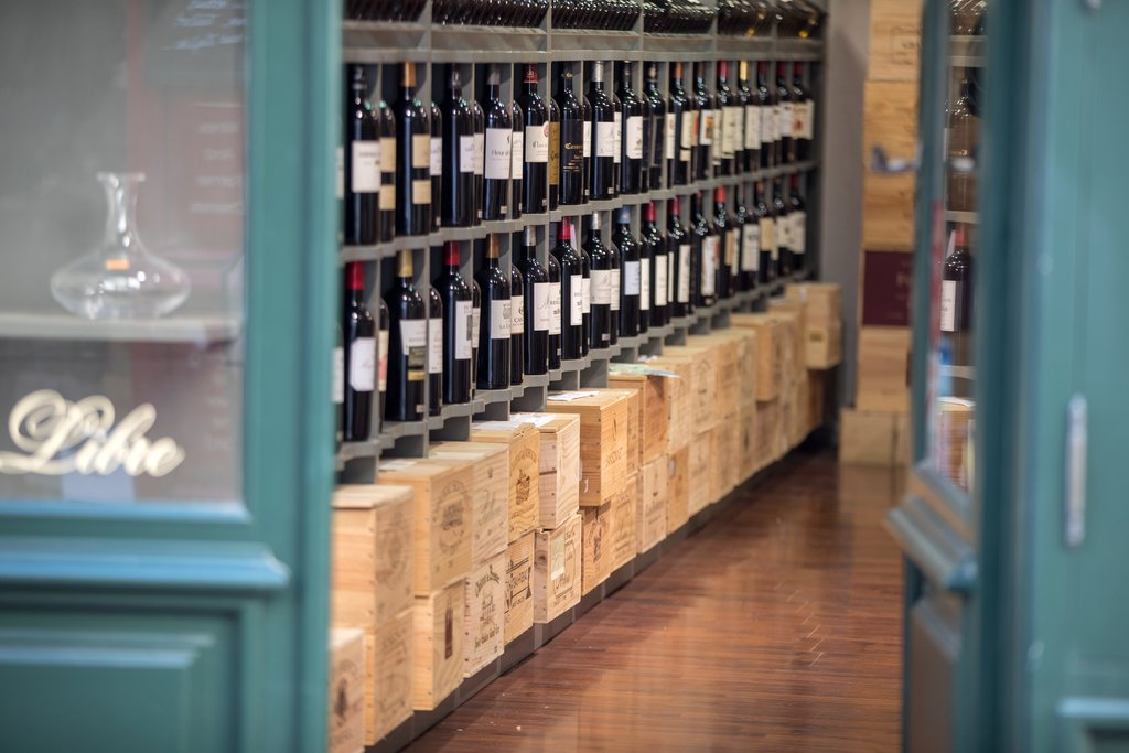 Wine shop in Saint Emilion