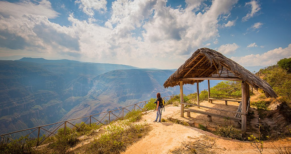 Incredible views of the area around Chachapoyas