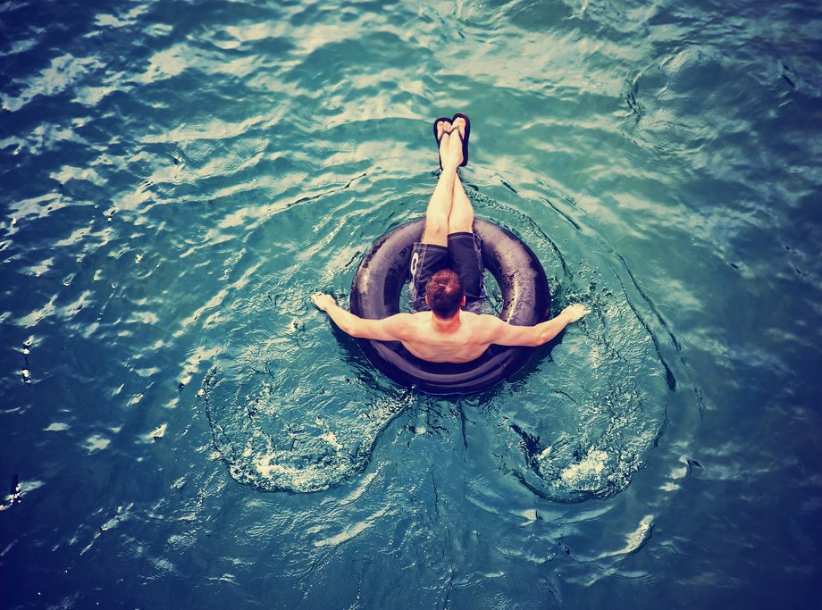 Take a relaxing float down the river