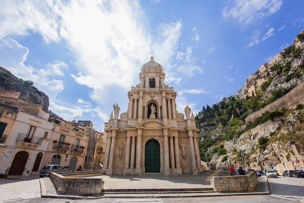 San Bartolomeo Church, Scicli, Sicliy, Italy