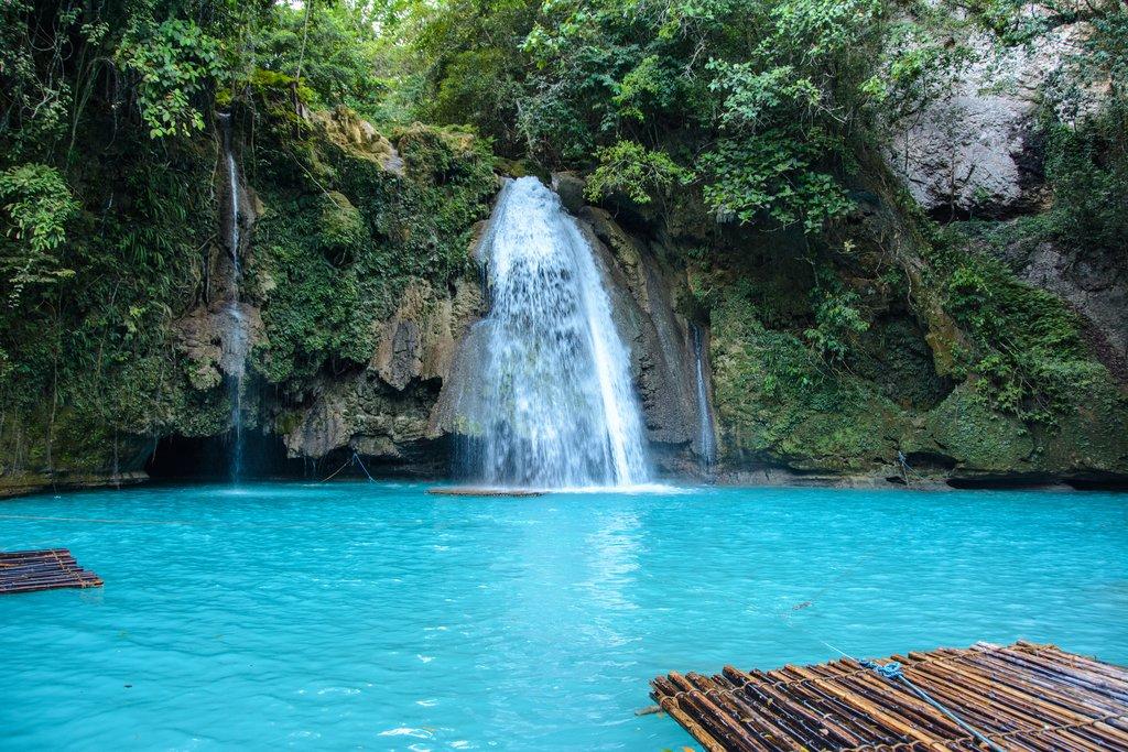 Kawasan Falls, Cebu, the Philippines