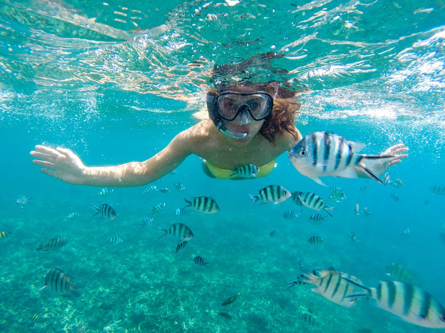 Snorkeling in San Juanillo