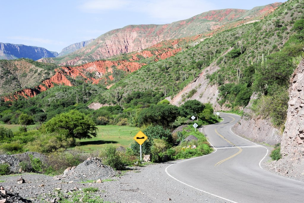 Drive through the Escoipe Gorge