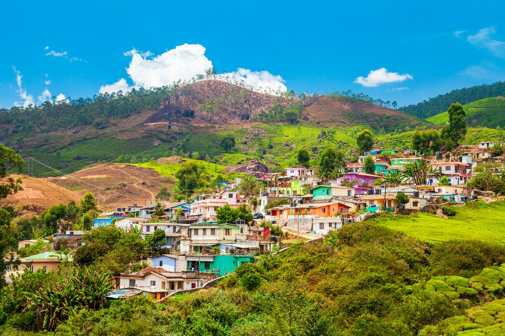 Spend two nights in Munnar, surrounded by plantations