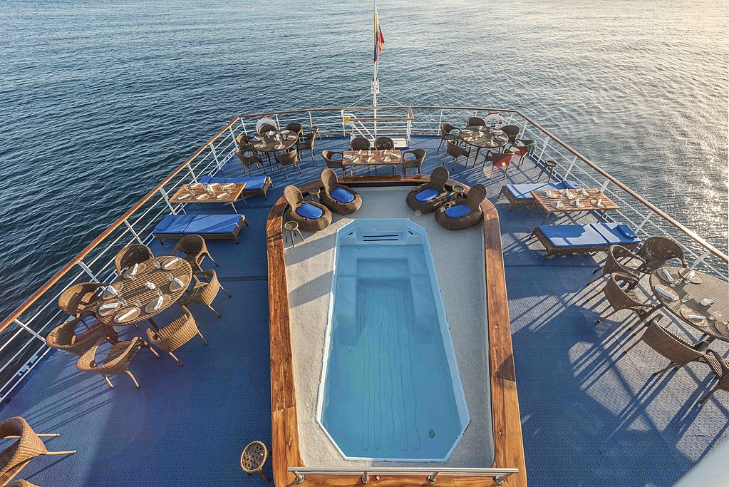 Luxury awaits on the Galapagos Legend