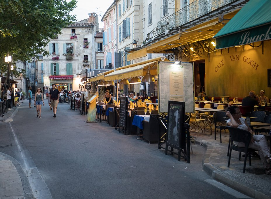 Cafe Van Gogh in Arles