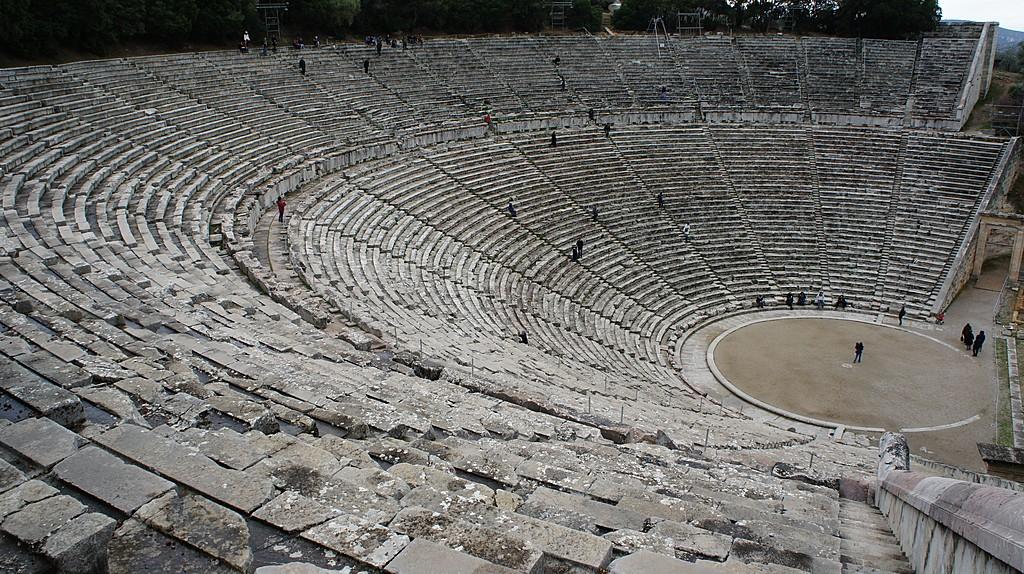 The theater at Epidaurus