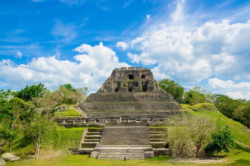 The Ancient Mayan Ruins of Xunantunich City