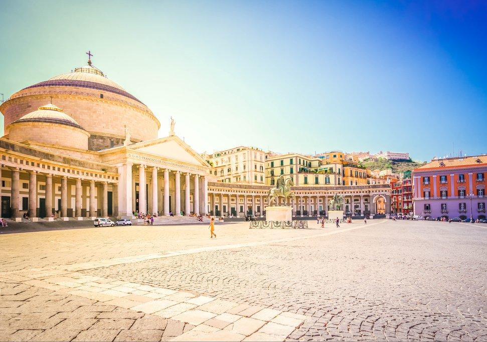 Piazza del Plebiscito, Naples' main square