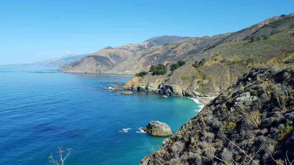 Enjoy breathtaking views of the Pacific Coast