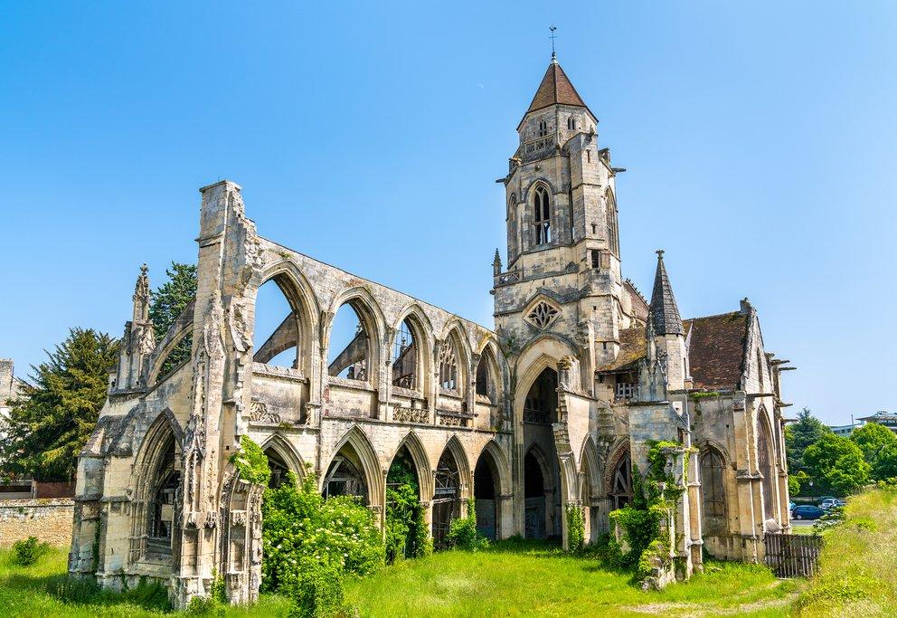 Saint Etienne le Vieux in Caen