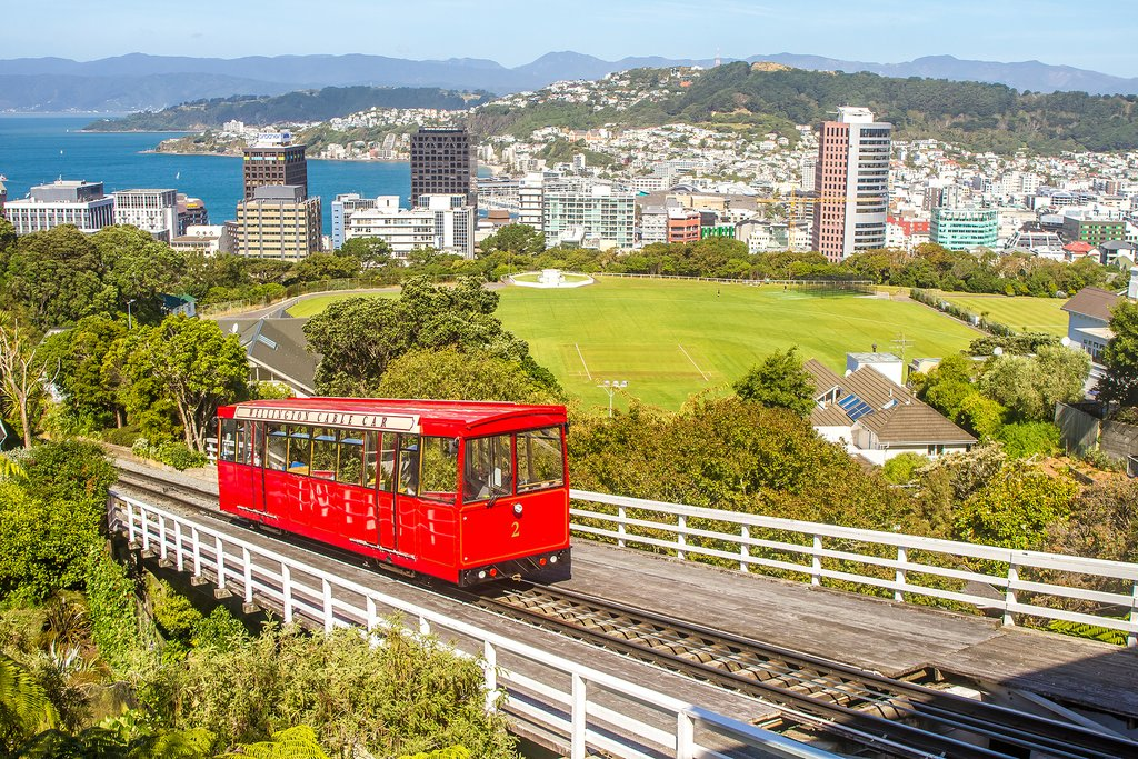 Take a cable car ride in Wellington
