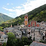 The hillside village of Tende, where the hike begins