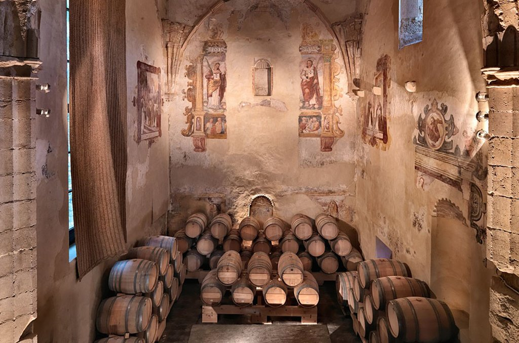 A winery in a XVIth century convent