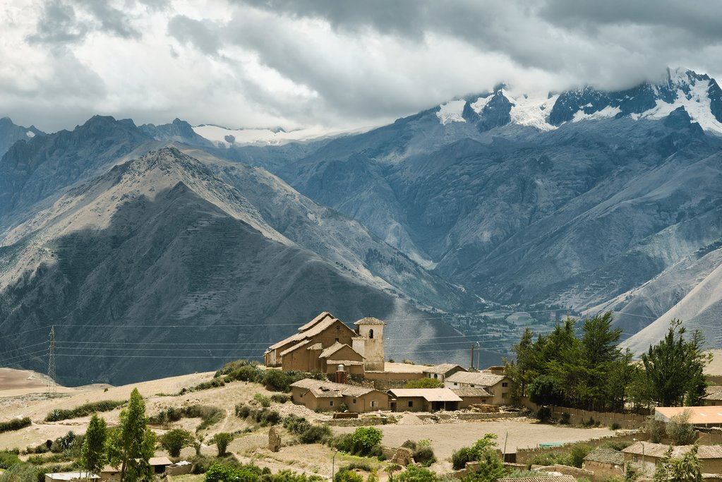 The Urubamba valley is a profound spot for reconnecting with Mother Earth