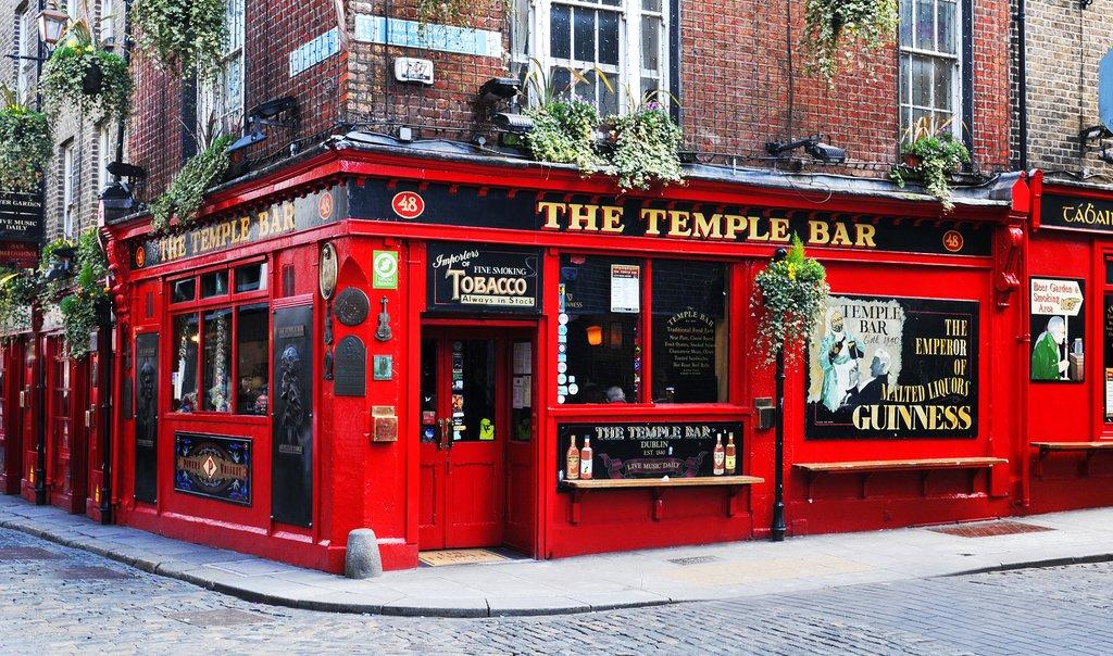 England - Dublin - Temple Bar in Temple Bar District