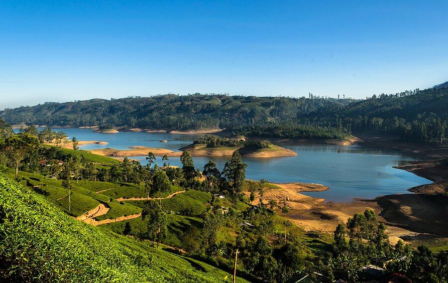 Kelani River in Sri Lanka
