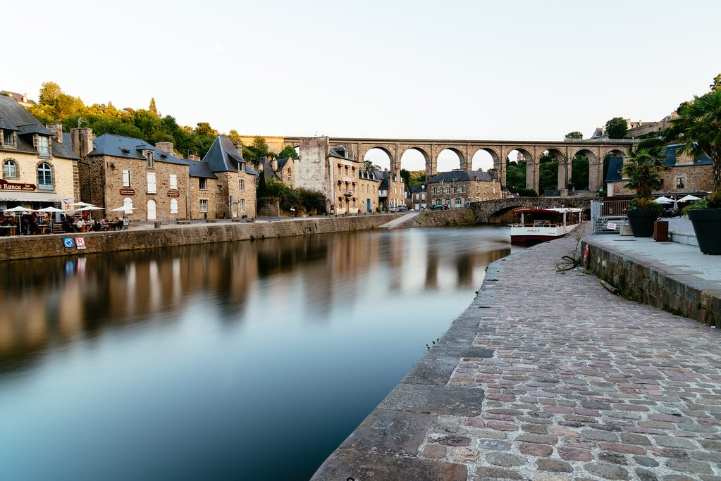 Riverside in Dinan