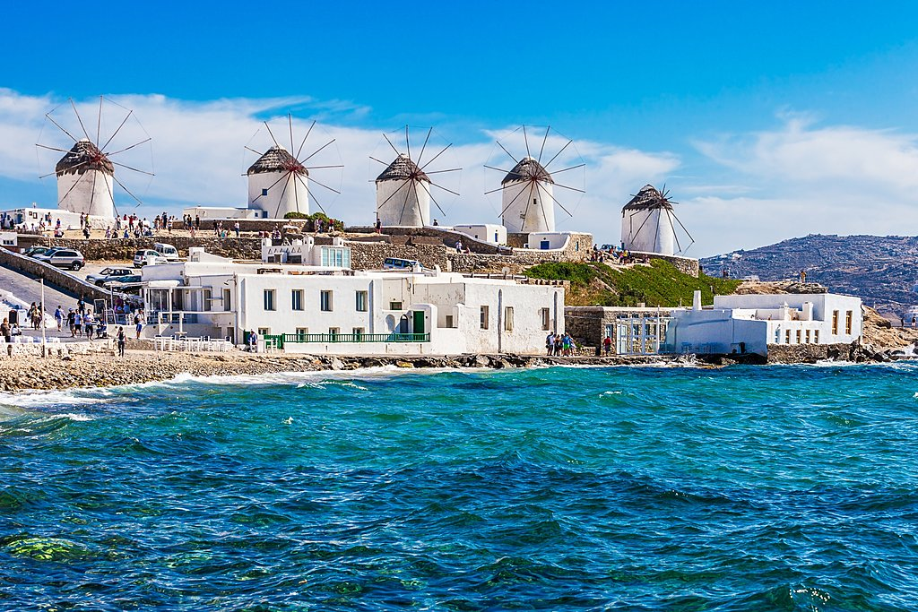 The Hilltop Windmills of Mykonos