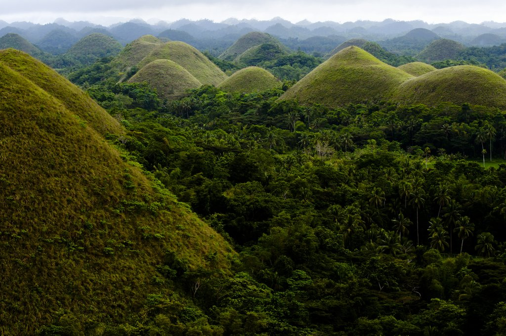 Chocolate Hills, Bohol the Philippines