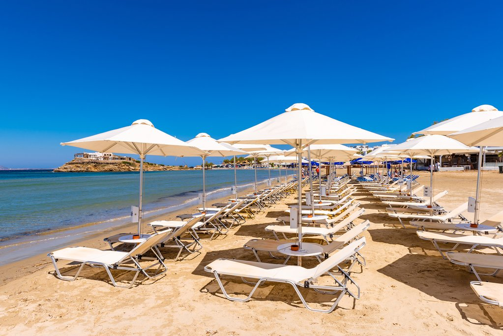 The Long Sandy Beaches of Naxos