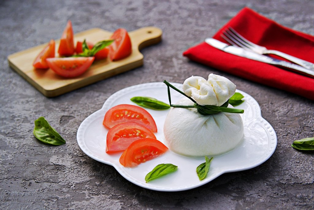 Fresh Burrata Mozzarella