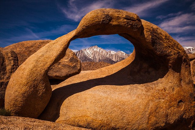 Mobius Arch in Alabama Hills (Photo courtesy of BLM)