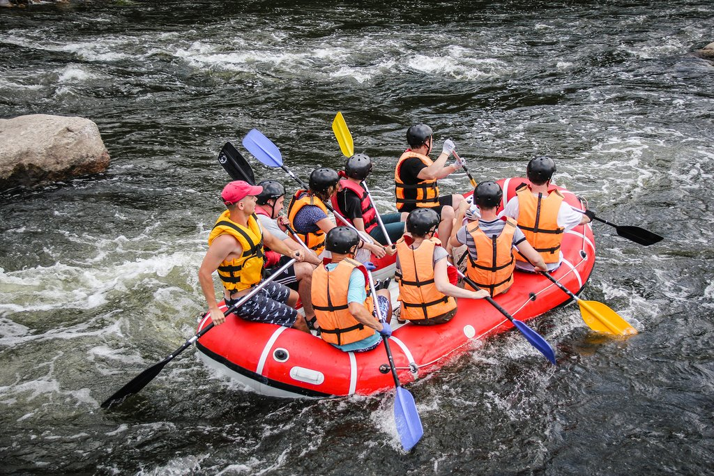 White Water Rafting, Victoria Falls