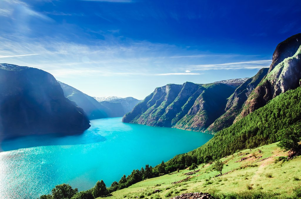 Welcome to the Aurlandsfjord!