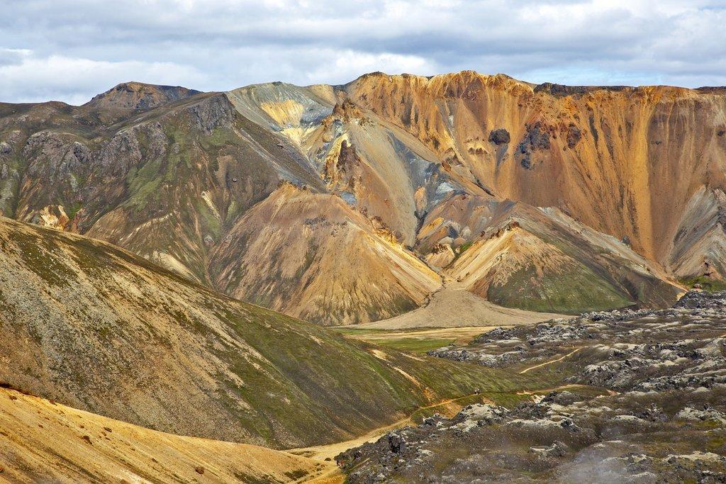 The landscapes of Landmannalaugar