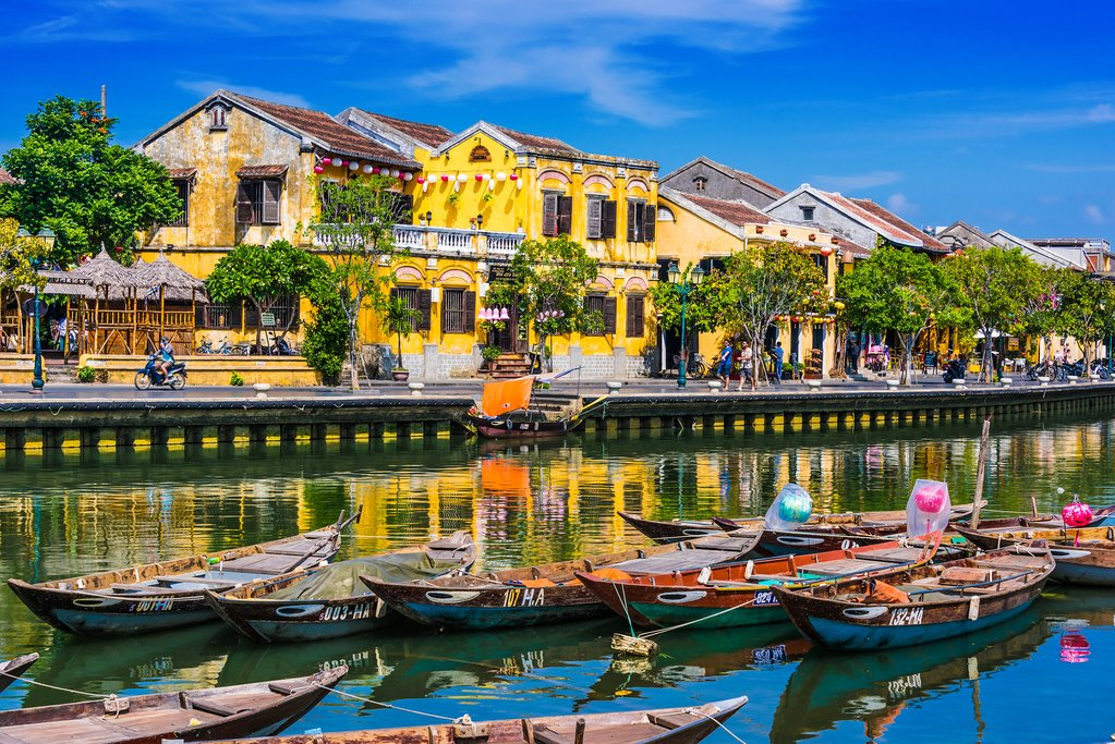 The historic waterfront city of Hội An