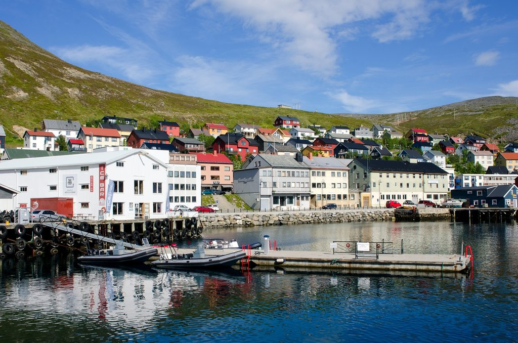 Honningsvåg is your village base in the North Cape