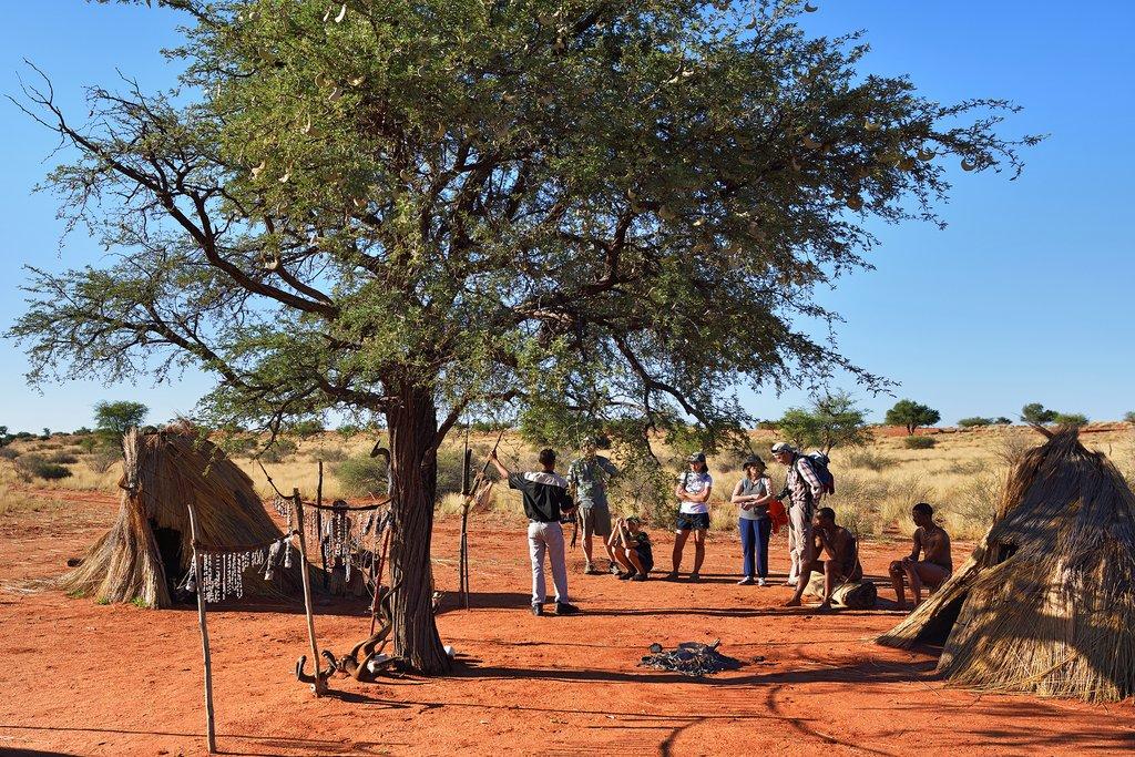San community Kalahari, Botswana