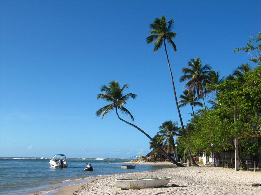 A peaceful beach on Boipeba